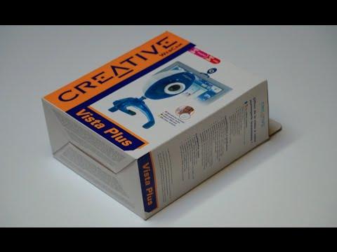 Unboxing Webcam Creative Vista Plus