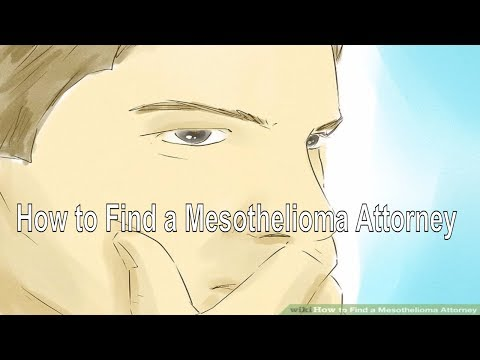 How to Find a Mesothelioma Attorney?