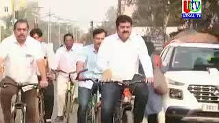 17 12 2019  UTv News MLA Bikram Panda Cycle Riding Story