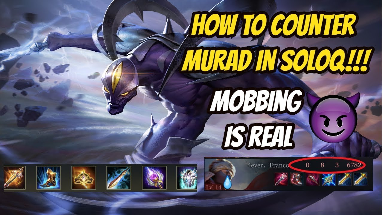 How To Counter Murad With Zill In Soloq Darkbreaker Conqueror Pro Arena Of Valor