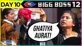 Dipika Kakar Becomes VIOLENT | Dipika And Saba  MAJOR FIGHT | Bigg Boss 12 Episode 10 Update