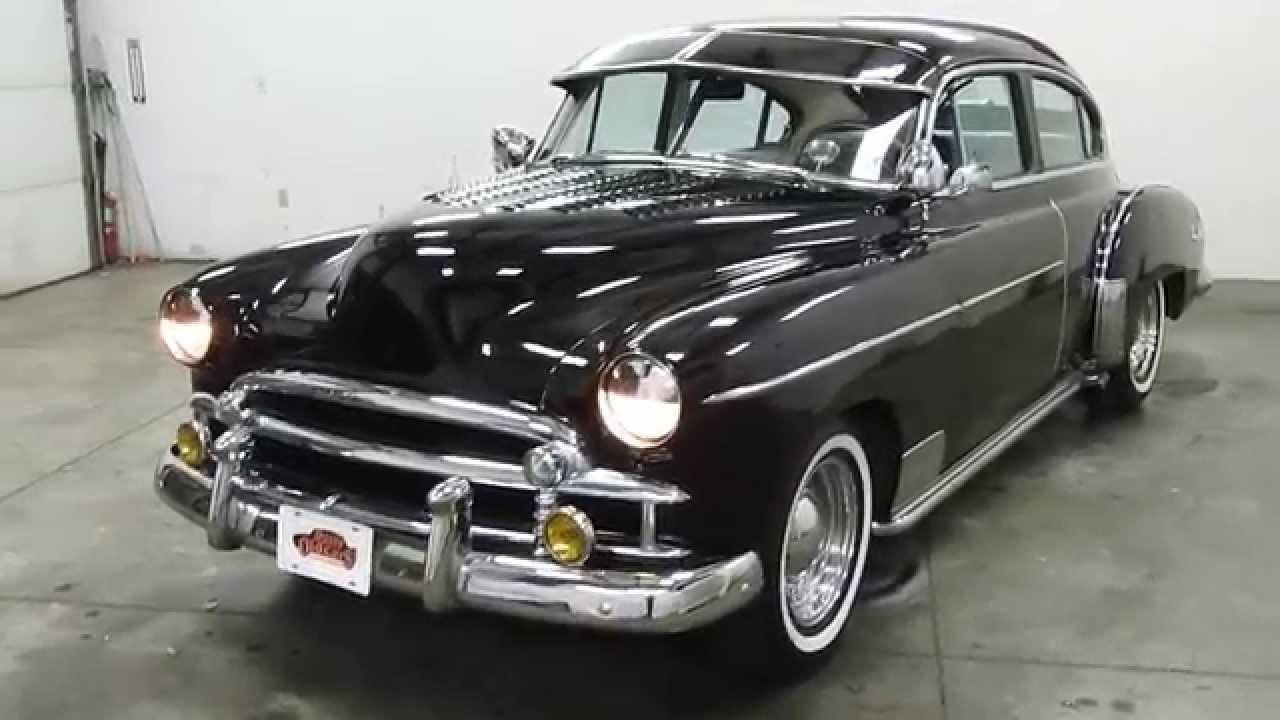 Dustyoldcars Com 1950 Chevrolet Fleetline Sedan Black Sn 1242