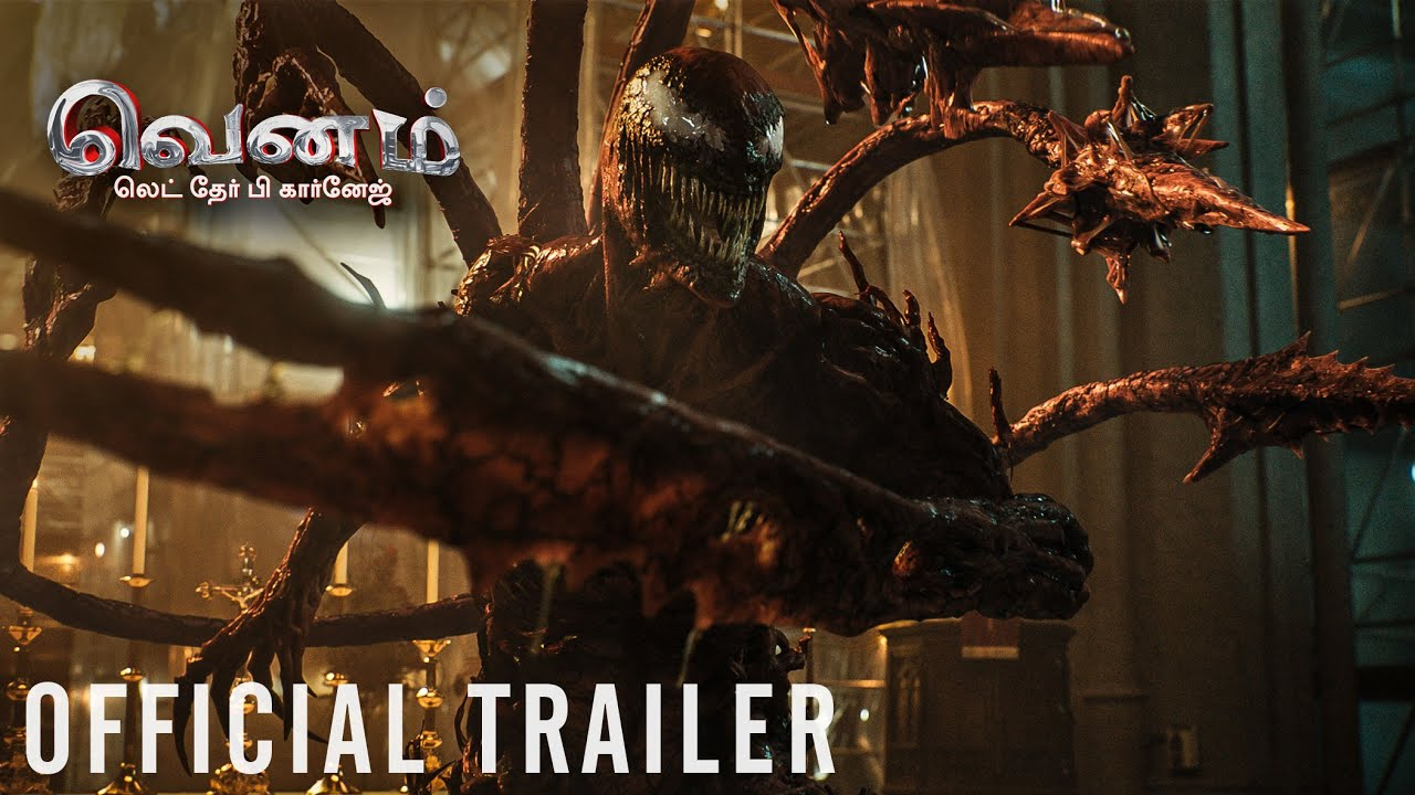 Download VENOM: LET THERE BE CARNAGE – Official Tamil Trailer 2 (HD)