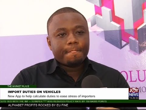 Import Duties on Vehicles - The Market Place on Joy News (25-7-17)