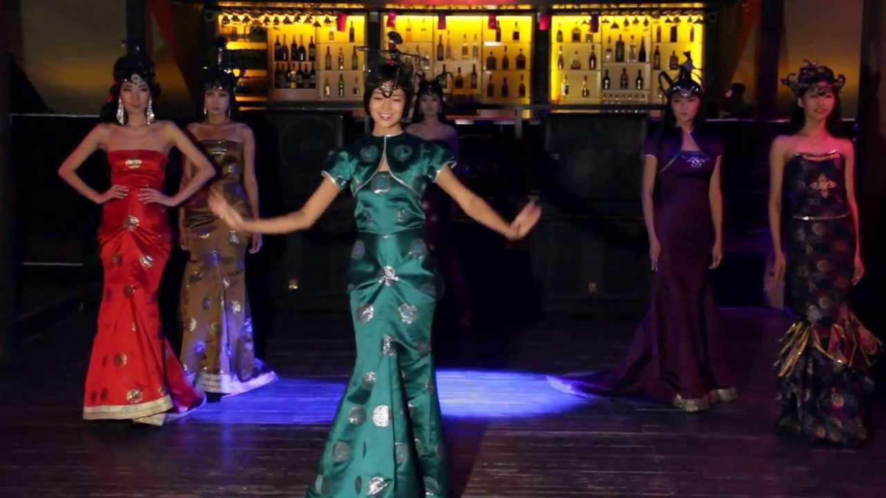 Бурятски стилизованные платья