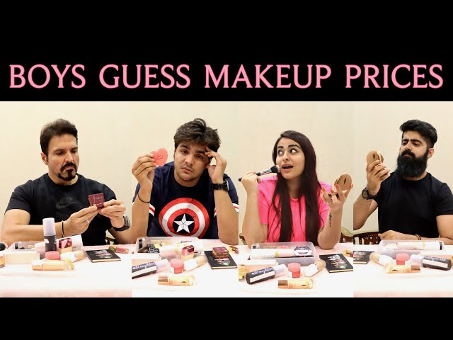 All the men in my life guess makeup prices 💄💅🏻