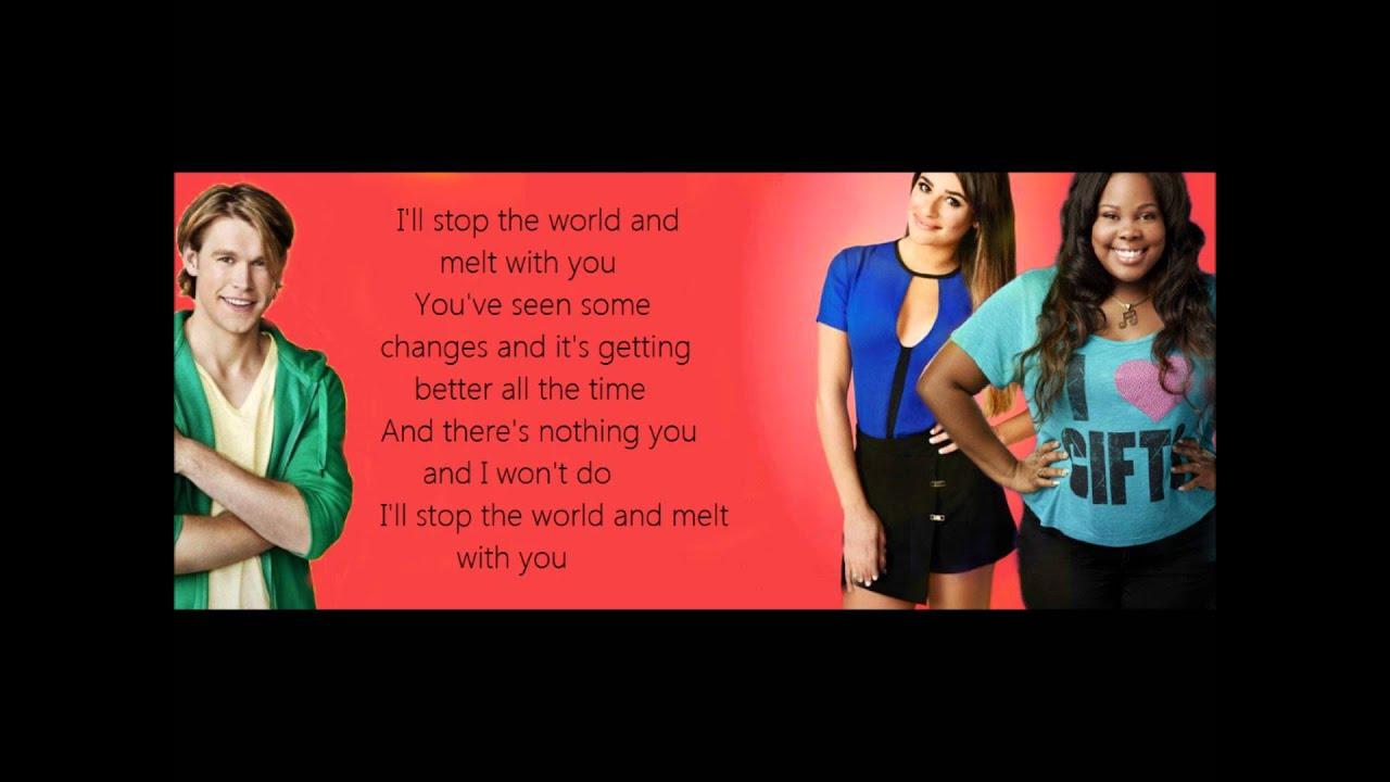 Download Glee - I Melt With You [LYRICS]