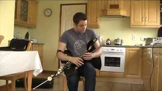 I am asleep (Air) & The Clumsy Lover (Reel) Uilleann pipes Chris McMullan