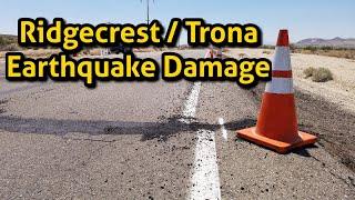 Ridgecrest Earthquake Damage   7.1 & 6.4 Earthquakes   Searles Valley   Trona