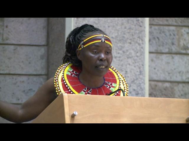 TEGLA Loroupe Speech:  WINNER 2016 UN Person of the Year Award