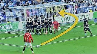 Trik Ronaldo Cetak Gol dari Tendangan bebas dalam kotak Penalty