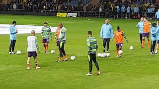 Download Video Oxford United v Manchester City.  City warm up (1of2) MP3 3GP MP4