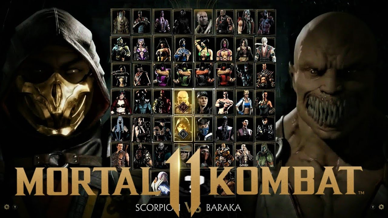 Mortal Kombat 11 Ultimate Edition Full Character Roster With Dlc