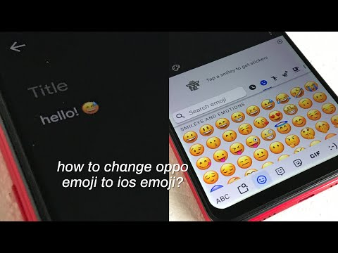How To Change Ios Emoji On Oppo A3s??