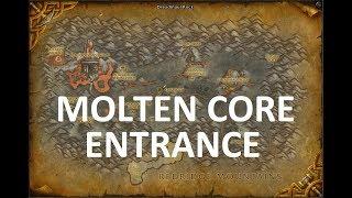 Molten Core BFA Entrance Location