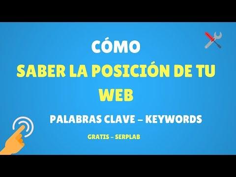 Cómo Saber la Posición de las Palabras Clave de tu Web con Serplab Gratis