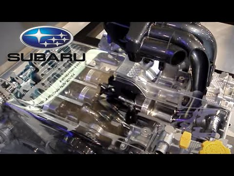 Subaru Boxer Engine : see thru model WRX Liberty Forester ...