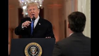 President Trump SHOUTED at CNN's JIM ACOSTA : You're a Rude Terrible Person!!