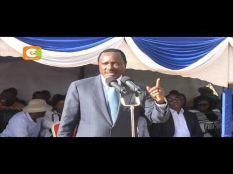 Musila supporters disrupt Kalonzo's speech for supporting Malombe