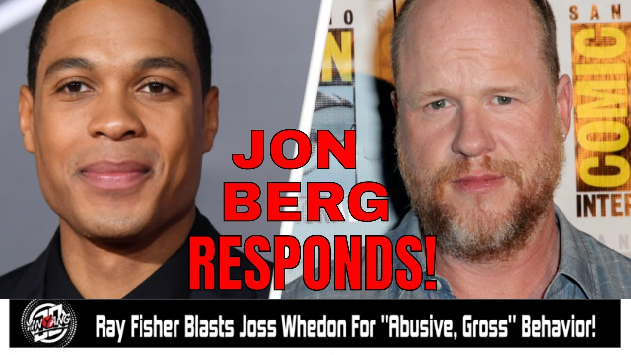 Jon Berg responds To Ray Fisher's Accusations!