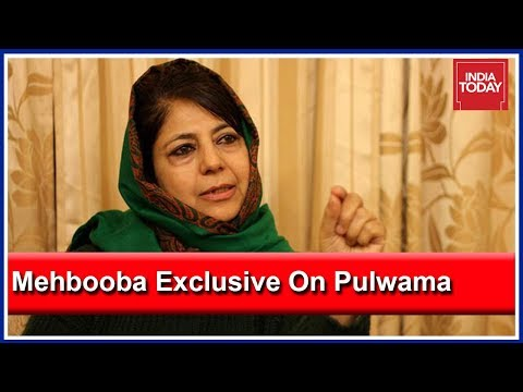 PM Modi Silent On Violence Against Kashmiris: Mehbooba Mufti Exclusive Interview After Pulwama