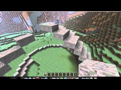 how to build a circle in minecraft xbox