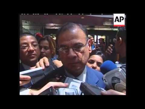 VENEZUELA: OPEC SUMMIT