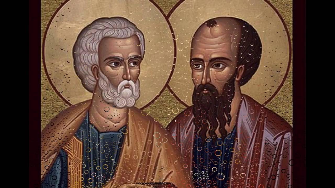 Oración A San Pedro Y San Pablo Youtube