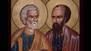 Oración A San Pedro Y San Pablo
