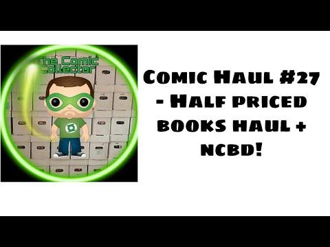 Comic book Haul #27- Half priced books haul+ncbd