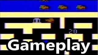 Bank Heist Atari 2600 Gameplay