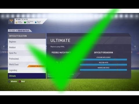 HOW TO BEAT LEGENDARY AI I SQUAD BATTLES I MOST OP FORMATION I FIFA 18 ULTIMATE TEAM