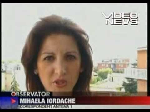 Ioana Visan scandal Berlusconi.
