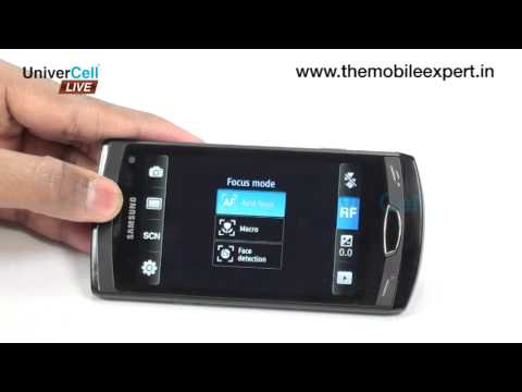 Samsung S8530 Wave II - UniverCell The Mobileexpert Reviews Travel Video
