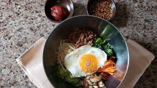 (ENG) Korean Bibimbap  | 비빔밥