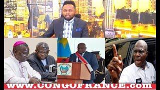 Actualité 26 01 2019 LA CENCO RECONNAIT F.TSHISEKEDI COMME PRESIDENT DE LA RDC, FAYULU REJETTE
