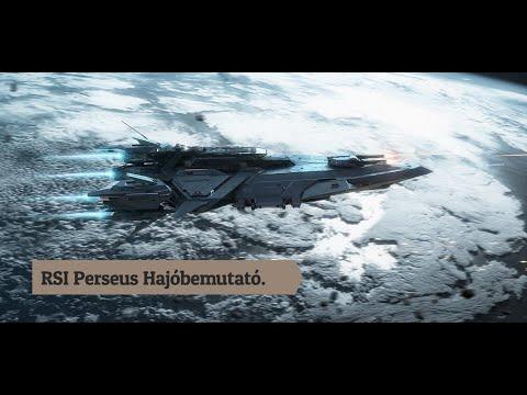 Star Citizen - RSI Perseus Concept & Hajóbemutató Előzetes Magyarul.