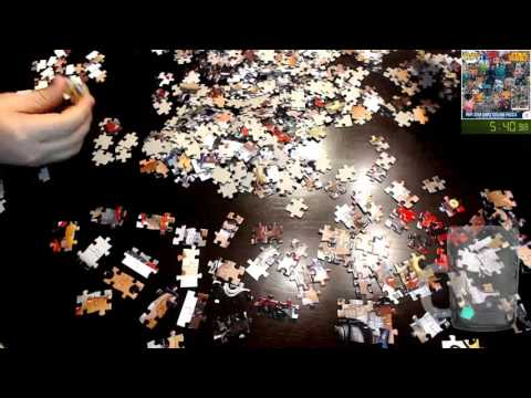 [3] Puzzle Time: Pop! Star Wars Collage Puzzle