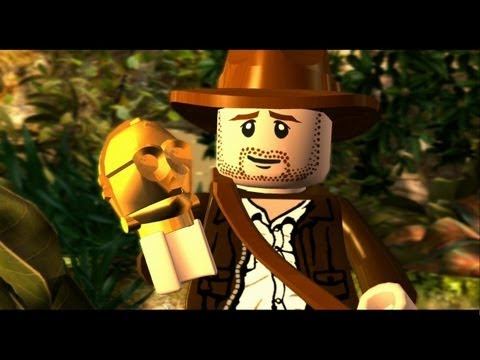 LEGO Indiana Jones: The Original Adventures Walkthrough P.1 - The Lost Temple & Into the Mountains