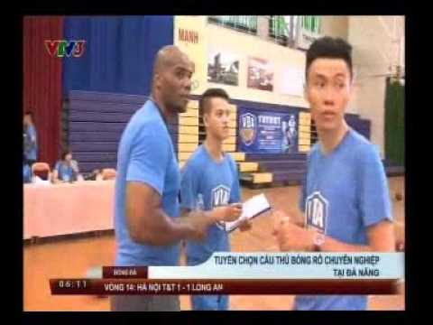 20160704 VTV3 NEWS Recruiting players for the proffesional basketball tournament in Da Nang