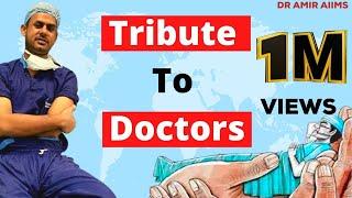 TRIBUTE TO DOCTORS     Jaanein Bachayenge   DR AMIR AIIMS  Arijit Singh   Neelesh Misra #shorts