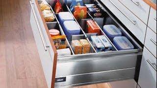 Организация хранения в шкафчике на КУХНЕ. Идеи для порядка и удобства.