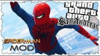 ★ GTA SAN ANDREAS : MOD DE SPIDER-MAN | EvPc Tutoriales