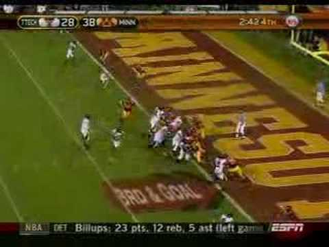 Biggest Comeback in NCAA Division One Bowl History