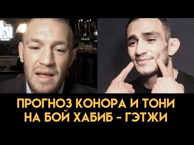 Гэтжи может вырубить Хабиба / Конор и Фергюсон дали прогноз на бой Хабиб - Гэтжи перед UFC 254