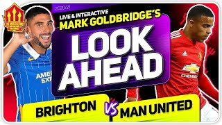 Sancho Staying? Brighton vs Manchester United! Man Utd News