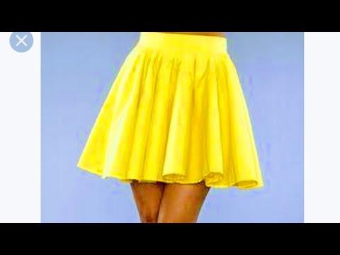 7fa5286f1 Clase #4 : Como cortar una Falda Circular con elástico en cintura 😍