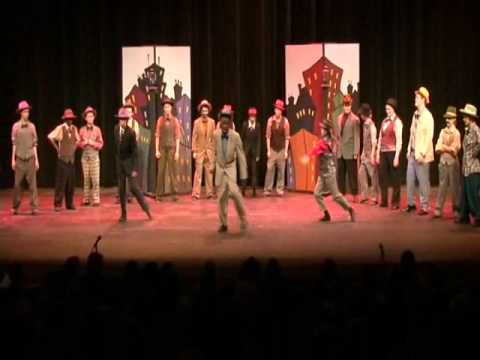 """""""Luck Be A Lady"""" from Guys and Dolls - Washington Middle School - Thursday"""