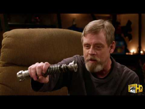 Mark Hamill and His Return of the Jedi Prop Lightsaber Reunite in Pop Culture Quest