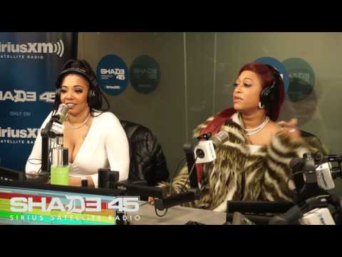 Dj Kayslay interviews Trina at Shade45 1/18/2017